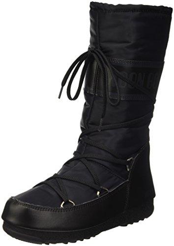 Tecnica Apres-ski-stiefel (Moon Boot Damen W.E. Soft Shade Outdoor-/Sportschuhe, Schwarz, 42 EU)