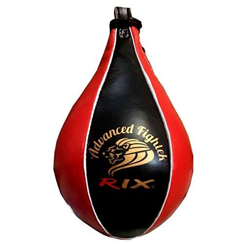 TurnerMAXSpeed Ball Platform with Cowhide Leather Speedball Hanging Boxing Punching Stricking Training Dodge Bag