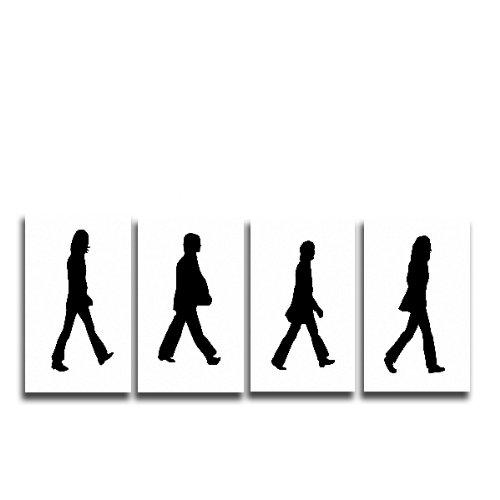 Beatles Abbey Road poster Stampa Artistica da Parete su Tela S, M, L, 4. 20