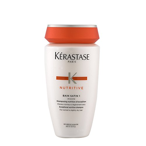 Kerastase Nutritive Bain Satin 1 Shampoo (Normal to Slightly Sensitised Hair) - 250ml/8.5oz -