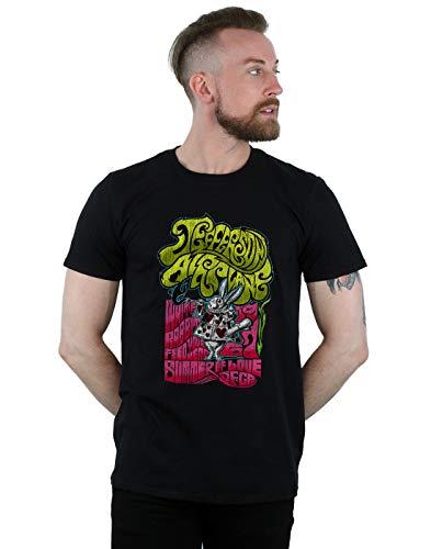 Jefferson Airplane Herren Summer of Love T-Shirt Schwarz Large (Jefferson Airplane T-shirt)