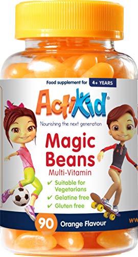 ActiKid Magic Beans Multi-Vitamin 90x Orange