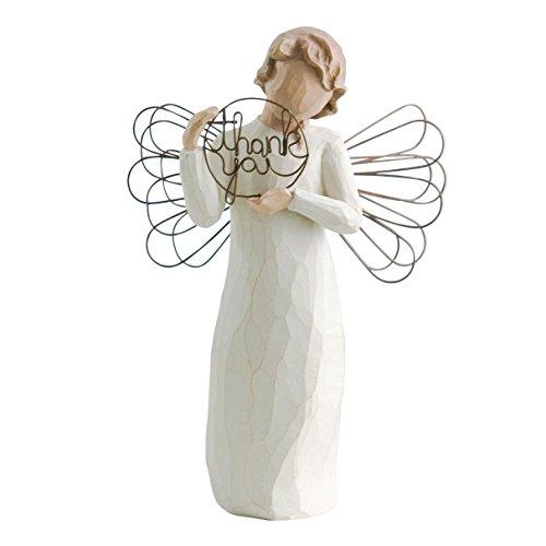 Willow Tree 26166 Figur Engel des Nur für Dich, 3,8 x 3,8 x 14 cm