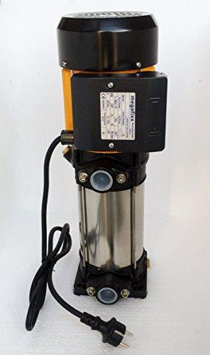 megafixx HMC 6 VC mehrstufige vertikale Kreiselpumpe 1350 Watt 6,5 BAR