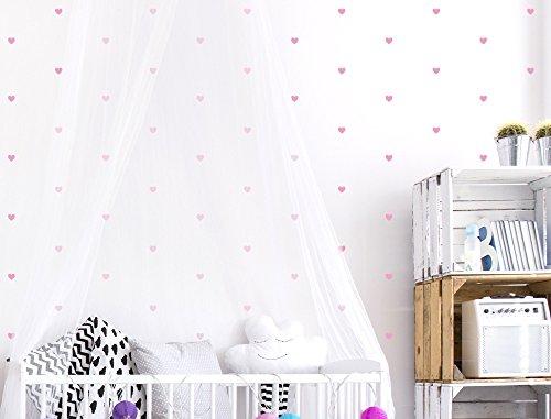 i-love-wandtattooo-was-10126-set-di-adesivi-da-parete-per-camera-bambino-cuori-in-rosa-60-pezzi