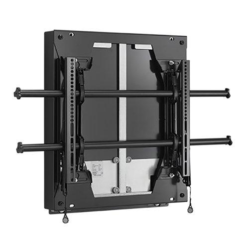 Chief LSD1U Large Fusion dynamisch höhenverstellbare Display-Wandhalterung, Querformat, Schwarz (57 - 81kg) - Chief Fusion