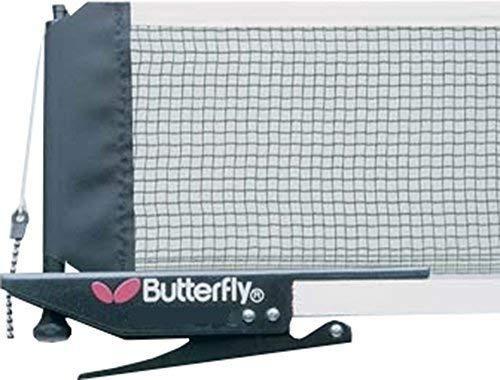 Butterfly Tischtennis-Netz, Zubehör, leicht einzustellen, mit Zugband zum Aufstellen