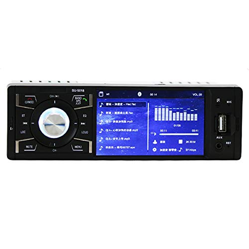 Iycorish 4,1 Zoll HD Auto Mp4 Player Freisprechfunktion - Netzwerk-buchse Verdrahtung