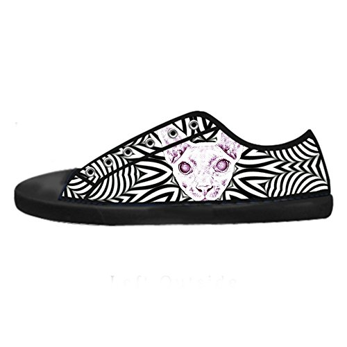 Dalliy kunst katze Men's Canvas shoes Schuhe Lace-up High-top Sneakers Segeltuchschuhe Leinwand-Schuh-Turnschuhe D