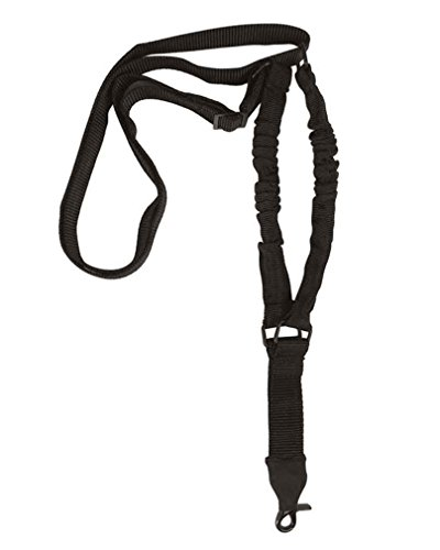 Tactical Tragegurt m.Bungee 1-point schwarz -