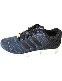 online retailer 6ebf0 05d33 adidas Originals ZX Flux Pattini Correnti del Mens Formatori Sneakers (UK  10.5 US 11 EU