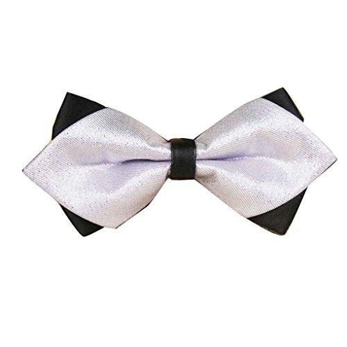Providethebest Männer Formale Metall Fliege Gentleman Hochzeit Bowties Einstellbare Fliege Knoten Männlichen Polyester Bowtie12# Polyester Bowties