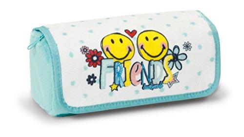 Nici-40733-Smiley-Mppchen-zum-Rollen-Friends-Plsch-19x7x7cm