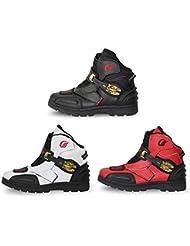 Botas De Moto Zapatillas De Moto Impermeable Resistente Al Desgaste ColisióN Zapatillas De Ciclismo Cuatro Estaciones