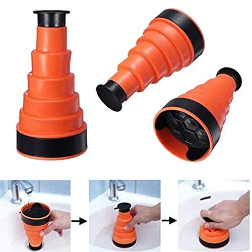 Fxhan Air Blaster Entwässerungsspüle, Zoccolo Blaster Drachenwerkzeug für Hygieneservice, Blättermotiv