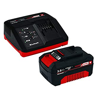 Einhell 4512041 Battery, red, Black, Starter Kit 3,0 Ah Akku