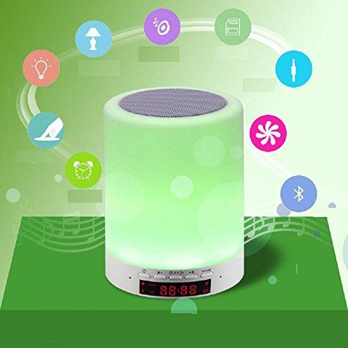 Lampes de Bureau Lampe de Table Lampe de Table créatifs colorés LED Night Light Touch gradateur Musique, a
