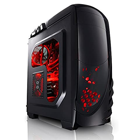 Megaport Gaming PC Intel Core i7-7700 4x 4.2 GHz Turbo • Nvidia GeForce GTX1050 Ti 4GB • 16GB DDR4 • Windows 10 • WLAN gamer pc computer gaming computer rechner
