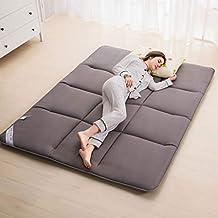 Hongyan Cojín de Dormir del colchón del lecho del Piso Gris, Estera de Tatami,