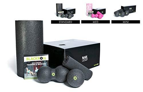 BLACKROLL® BLACKBOX - Faszientool-Sets in verschiedenen Variationen - das Original. Selbstmassage-Produkte für die Faszien + DVD & Übungskarte (Beliebteste Produkte)