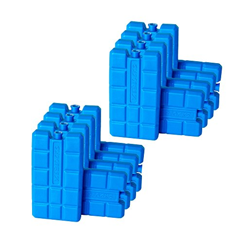 ToCi 16er Set Kühlakku mit je 200 ml |16 Blaue Kühlelemente für die Kühltasche oder Kühlbox