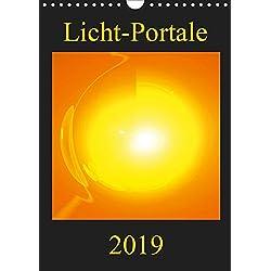 Licht-Portale (Wandkalender 2019 DIN A4 hoch): Farbenprächtige und motivationsfördernde Energie-Kunst-Bilder (Monatskalender, 14 Seiten ) (CALVENDO Gesundheit)