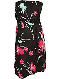 b0e29cbea Monsoon Ladies Ex Strapless Belted Floral Pull-On Dress
