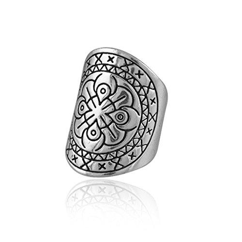 plata-de-la-vendimia-de-la-flor-tallada-bohemio-de-la-joyeria-del-anillo-del-dedo-etnica-tribal