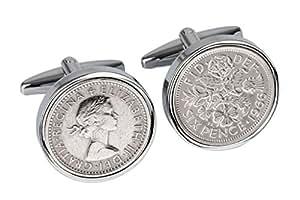 51st Birthday for Men-Genuine 1966 Coin Cufflinks-100% Satisfaction Guarantee