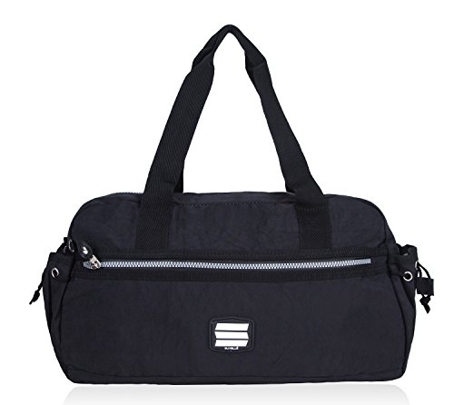 Suvelle Small Lightweight Duffle Weekend Handbag Luggage Gym Sports Travel Duffel Bag 2067 (Baggallini Luggage)