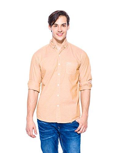 Mufti Cotton Shirt Mfs-6478-b-124-mango