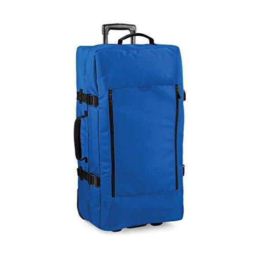 Bagbase Escape - Sac de voyage à roulettes (95 litres) (Taille unique) (Bleu saphir)