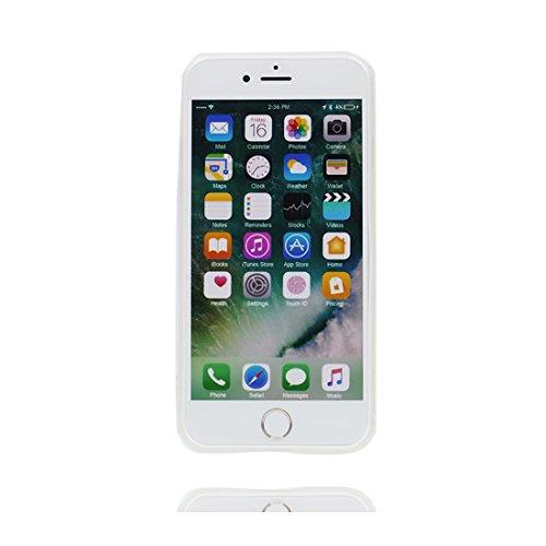 Custodia iPhone 6 Plus, [ silicone trasparente di Slim luce pesa Thin ] cover iPhone 6s Plus Copertura, 3D Sorriso Case iPhone 6 Plus/6S Plus 5.5 # 2