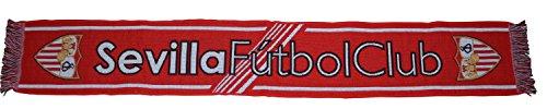 Sevilla CF Bufsev Bufanda Telar, Rojo / Blanco, 140 x 20 cm