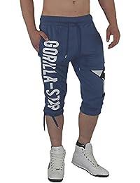 Gorilla-Star Herren Sporthose-Short in ultra angesagtem Style und tollen Farben Größe XS - 4XL