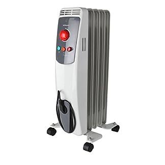 Orbegozo RO 1500D – Radiador de aceite, 7 elementos, 1500 W