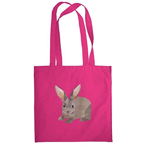 Texlab–Poly Bunny–sacchetto di stoffa Pink