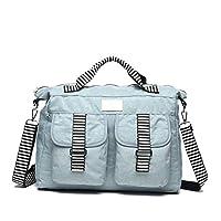 Mindesa Shoulder Bags for Women - Light Blue (8569)