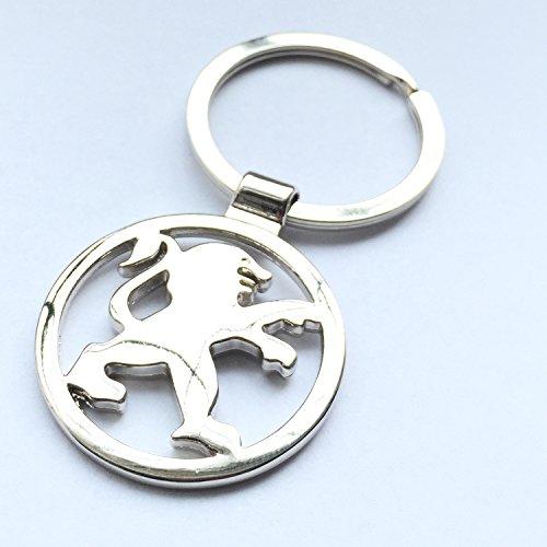 itech-r-peugeot-chrome-metal-car-logo-keyring-key-fob-keychain