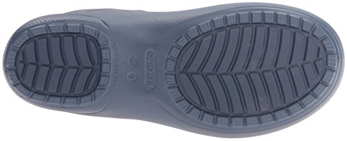 Crocs Freesail Rain Boot, Stivali Alti con Imbottitura Leggera Donna Blu (Navy)