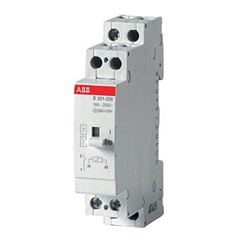 abb-stromstossschalter-fernschalter-e251-230-1-schliesser-230vac-oder-115v-dc-16a