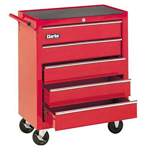 CLARKE TOOL TROLLEY 5 DRAWERS MOBILE