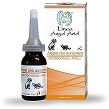 Angel Ariel, Alopet Olio Auricolare, Gocce per Il Benessere dell'orecchio Esterno di Cani e Gatti. A Base di Oli Essenziali Naturali.