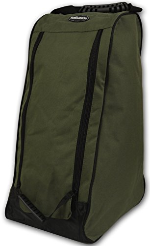 woodside-olive-green-wellington-welly-boot-storage-bag-muddy-hunting-hiking-fishing