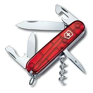 Victorinox Taschenwerkzeug Offiziersm Spartan Rot Transparent, 1.3603.T