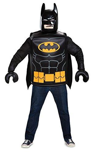 (Generique - BatmanLego-Kostüm für Erwachsene Lizenz schwarz-gelb Einheitsgröße)