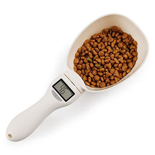 Descripción del producto:Nuestra cucharada de comida para mascotas Ceepko tiene cinco unidades de medición, que incluyen g, ml, taza, fl.oz y oz, que le ofrece mayor conveniencia para medir las porciones de comida de las mascotas y le ayuda a control...