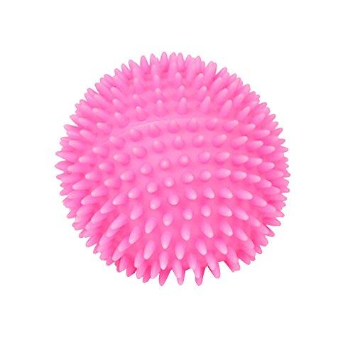 CAOQAO Jouets Chien Familier De HéRisson Aime Bruit Couine Indestructible Rebondissante Balle Chien pour Chiens Caoutchouc Solide Et RéSistant Indestructible Rebondissante pour EntraîNement
