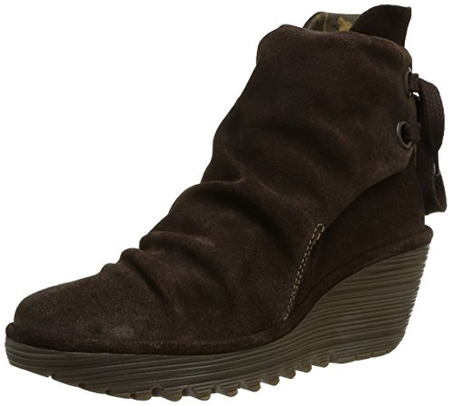 FLY London Yama, Bottes Classiques femme Marron (Expresso)