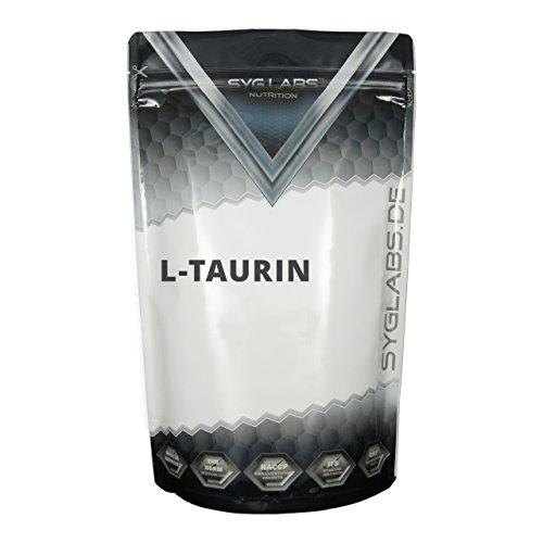Syglabs Nutrition 100 Prozent Taurin Pulver - 1000 g reine Aminosäuren, 1er Pack (1 x 1 kg)
